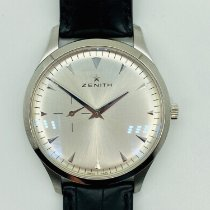 Zenith Elite Ultra Thin Steel 40mm Silver No numerals United States of America, New York, NEW YORK
