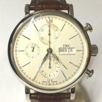 IWC Portofino Chronograph IW391027 New Steel Automatic