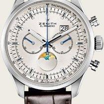 Zenith El Primero Stahl 45mm Silber Schweiz, Basel