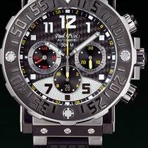 Paul Picot C-TYPE titanium chronograph cash titanium  rubber...