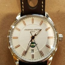 Frederique Constant Vintage Rally neu 40mm Stahl