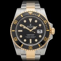 Rolex Submariner Date Stainless Steel & 18k Yellow Gold...