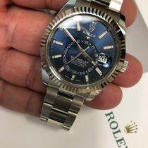Rolex Sky-Dweller Steel 42mm No numerals