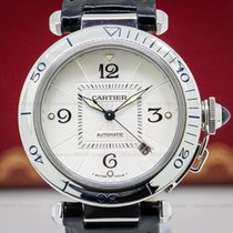 Cartier W3103155 Pasha Automatic Silver Dial SS 38MM (27206)