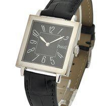Piaget 24082 Altiplano Square 33mm Size in White Gold - on...