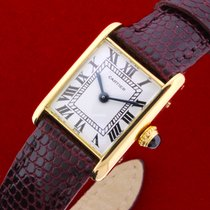 Cartier Tank Vintage 18k Solid Gold Perfect Condition