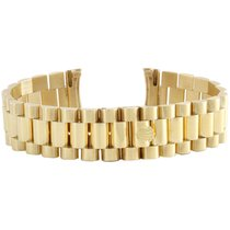 Rolex Mens 18K Gold Authentic Rolex President Bracelet 20mm...