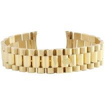 Rolex Mens 18K Gold Authentic Rolex President Bracelet 20mm...