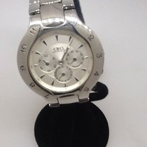 Ebel Lechine Ronde Automatic Chronograph Stainless Men's Watch...