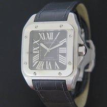 Cartier Santos 100 tweedehands 51mm Staal