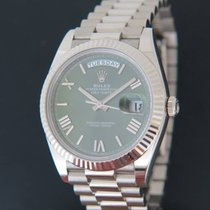 Rolex Day-Date 40 Whitegold 228239