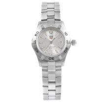 TAG Heuer Aquaracer Lady Steel 27mm Silver No numerals United States of America, New York, New York