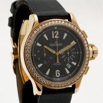Jaeger-LeCoultre Master Compressor Chronograph Ouro rosa 37mm Azul Árabes