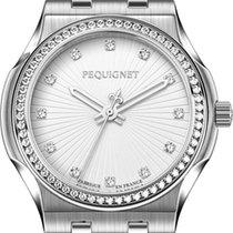 Pequignet Dameshorloge 34mm Quartz nieuw Horloge met originele doos en originele papieren