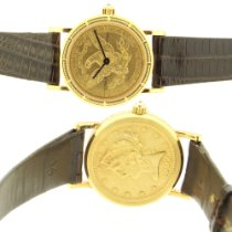 Corum Coin Watch pre-owned Yellow gold