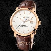 Ulysse Nardin pre-owned Automatic 40mm White Sapphire Glass 5 ATM