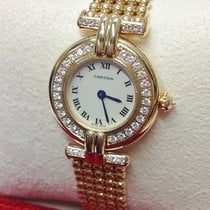 Cartier Yellow gold 24mm Quartz 1980 pre-owned United Kingdom, Wilmslow