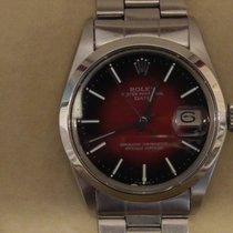 Rolex Oyster Perpetual Date Steel 34mm Red No numerals United Kingdom, Boston