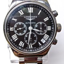 Longines Steel Automatic 42mm pre-owned Master Collection