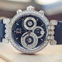 Harry Winston White gold Manual winding pre-owned Premier