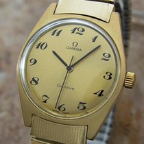 Omega Steel Manual winding Gold 35mm pre-owned Genève