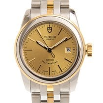 Tudor Glamour Date 26mm Gold