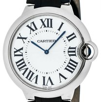 Cartier Ballon Bleu 44mm new Manual winding Watch with original box and original papers W6920055