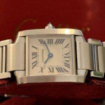 Cartier Acero Cuarzo W51008Q3/2384 nuevo
