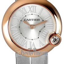 Cartier Ballon Blanc Oro rosa 30mm Plata