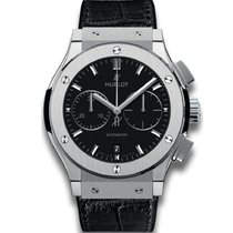 Hublot Classic Fusion Chronograph Titanium 42mm Black United Kingdom, Bowness on Windermere