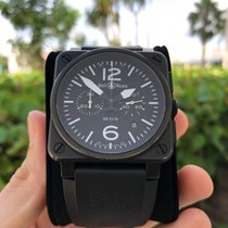 Bell & Ross BR03-94 Steel 2011 BR 03-94 Chronographe 42mm pre-owned United States of America, Florida, hollywood