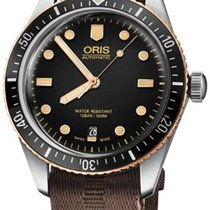 Oris Divers Sixty Five Steel 40mm Black