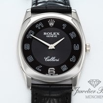 Rolex Cellini Danaos White gold 33mm Black Arabic numerals