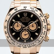 Rolex Daytona Rose gold 40mm Black