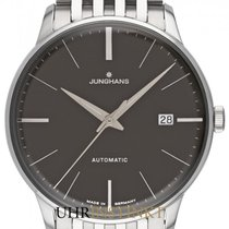 Junghans Meister Classic Stal 38.4mm Szary