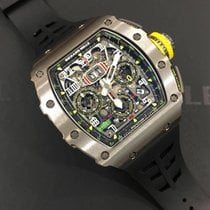 Richard Mille Titanium Automatic Transparent Arabic numerals 49.94mm new RM 011