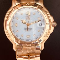 TAG Heuer 6000 Yellow gold 38mm White No numerals