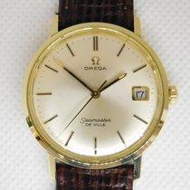 Omega Seamaster DeVille 136.020 De Ville Quick Set date 1969 gold on steel 1969 pre-owned