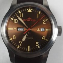 Fortis Steel 42mm Automatic 655.10.18 pre-owned