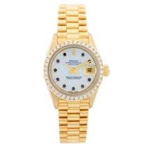 Rolex Lady-Datejust Gelbgold 26mm Perlmutt