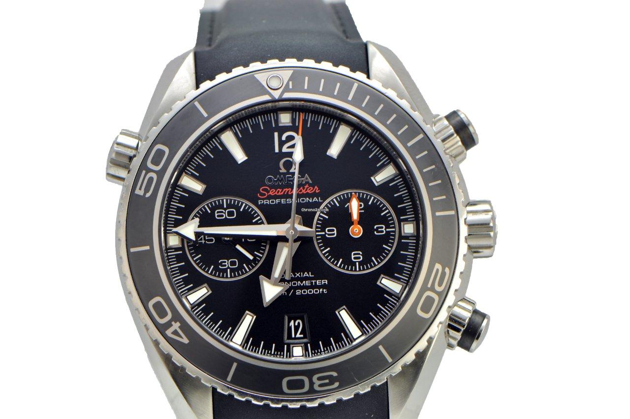 omega seamaster planet ocean chrono black dial rubber mens watch for  4 990 for sale from a Omega Sea Master Omega Seamaster Aqua Terra