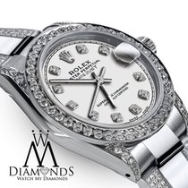 Rolex Lady-Datejust Steel 31mm White No numerals United States of America, New York, New York
