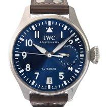 IWC Big Pilot Acero 46.20mm Azul