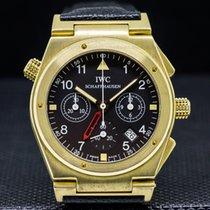 IWC 3815-007 Ingenieur Chronograph Alarm / 18K Yellow Gold...