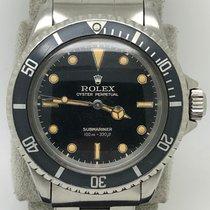 Rolex Submariner (No Date) Ocel Bez čísel