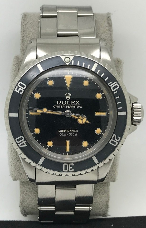 Rolex 5512 Vintage Submariner Gilt Dial Rare For Price On Request