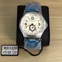 ハミルトンカーキ ・新品/未使用・時計 (説明書付き、化粧箱入り)・42 mm・スチール