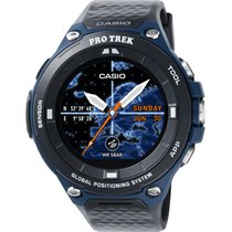 Casio WSD-F20A-BU Smartwatch Pro Trek Connected Apple Android