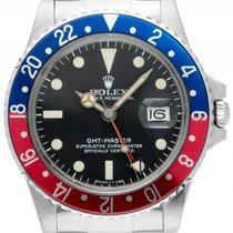 Rolex GMT Master Mark IV rot blau Pepsi Matte Tritium Dial...