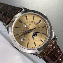 Patek Philippe Perpetual Calendar Platinum Brown